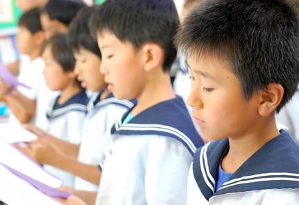 英語と日本語で学ぶ授業