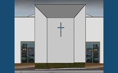 礼拝堂&カフェテリア